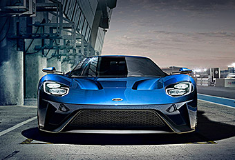 Ford GT Reveal UI / Content