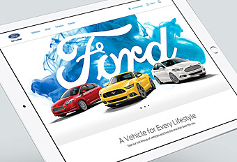 Ford.com Global Redesign