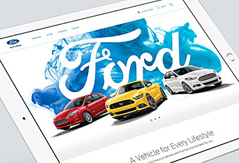 Ford.com Global Redesign UI / Content