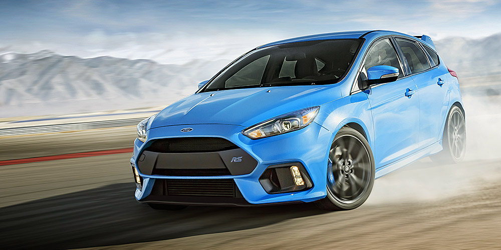Ford Focus RS Reveal