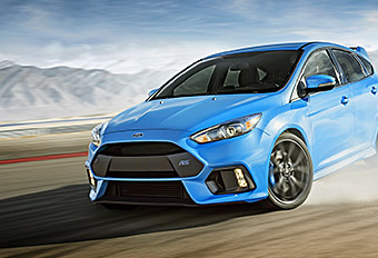 Ford Focus RS Reveal UI / Content