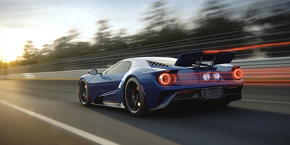 Ford GT CGI Animations