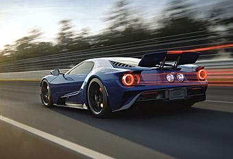 Ford GT CGI Animations